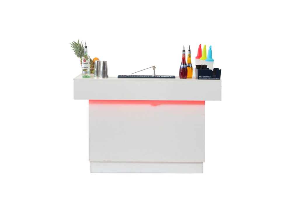 Witte cocktailbar small